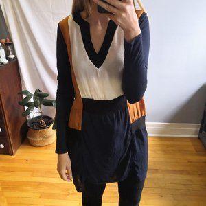 Zara W&B collection tunic size M